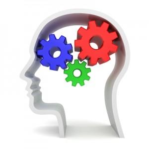 gears turning brain