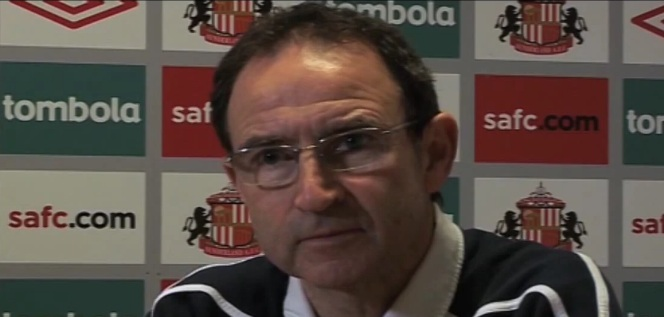 martin o'neill sunderland manager