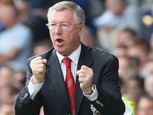 Fergie fired up