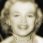 Albert Einstein Marilyn Monroe Illusion
