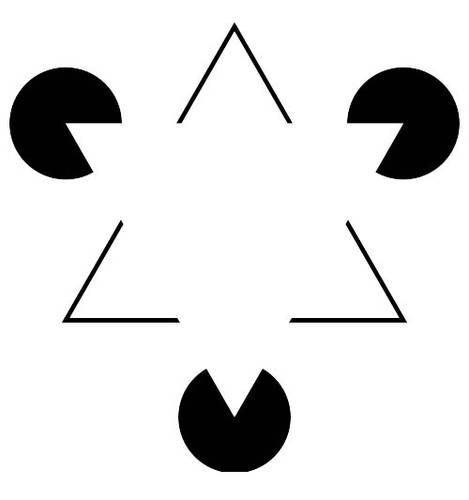 Illusion Kanizsa Triangle
