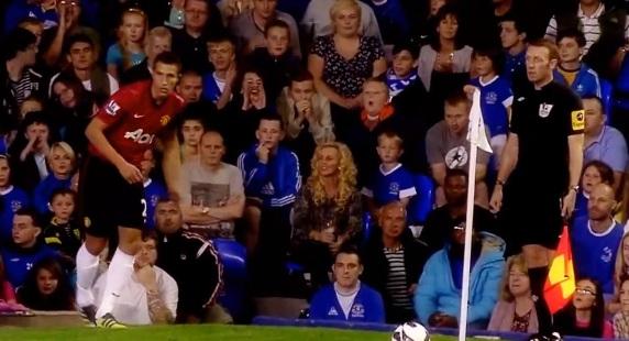 robin van persie manchester united debut