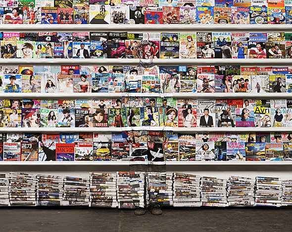 liu bolin magazine illusion