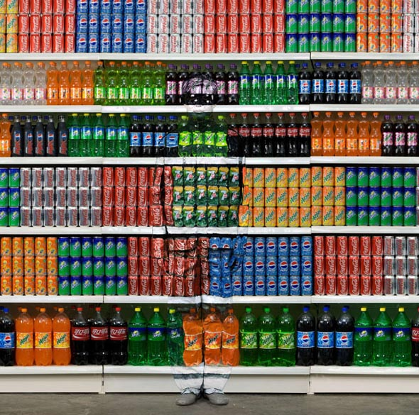 supermarket illusion liu bolin