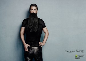 Garnier Fructis long beard illusion