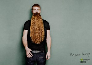 Garnier Fructis long beard illusion 1